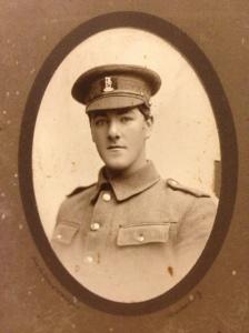 Benjamin Ralph Mottram aged 20