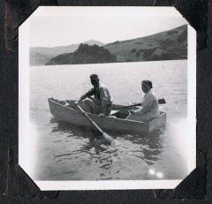 Gerald & Ngaire Mottram, Akaroa (late 1940s)