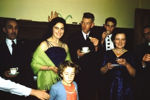 Mottram family party, 1950s
