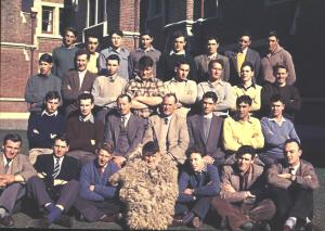 Lincoln College Woolclassing school 1958